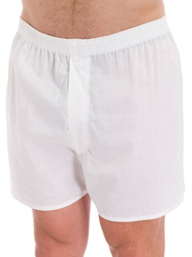 Fruit of the Loom Men's 5Pack White Boxer Shorts Boxers Underwear 3XL (Fruit Of The Loom Boxers 3xl compare prices)