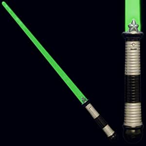 FlashingBlinkyLights Green LED Light Up Saber Space Weapon