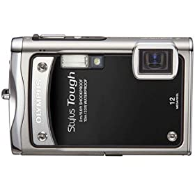 Olympus Stylus Tough-8000 12 MP Digital Camera with 3.6x Wide Angle Optical Dual Image Stabilized Zoom and 2.7-Inch LCD