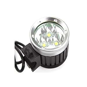 COOLEREclairage avant Phare avant pour vélo / VTT / Enduro 3600 Lumens Avec batterie 4400mAh Attention: 2 heures de luminosité pour la mode forte;4 heures de luminosité pour la mode faible