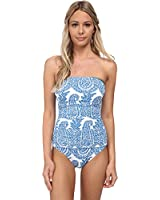 Tommy Bahama Women's Bandana Bandeau One-Piece