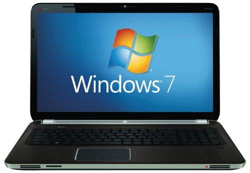 HP Pavilion DV7-6004 17.3 inch Laptop (AMD Phenom Quad core P960 Processor, 6GB RAM, 750GB HDD, Windows 7 Home Premium) - Aluminium