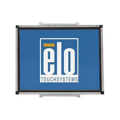 Elo 1537L Open-Frame Lcd Touchscreen Monitor 15 - Surface Acoustic Wave - 1024 X 768 - 4:3 - Steel Black *Power Brick Sold Separately (E512043)