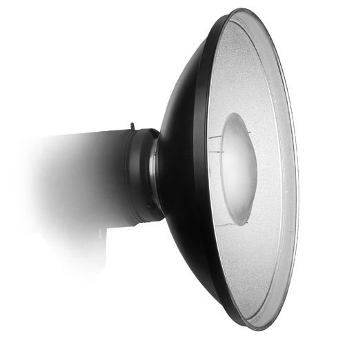 """Alien Bees B800 Lighting Kit: Fotodiox Pro Beauty Dish 16"""" With Speedring For Alien Bees"""