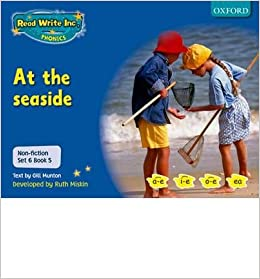 Non-fiction Set 6 (blue): at the Seaside - Book 5 (Paperback) - Common