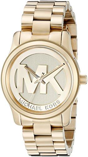 Micheal Kors Damen-Armbanduhr Analog Quarz Edelstahl MK5786 thumbnail