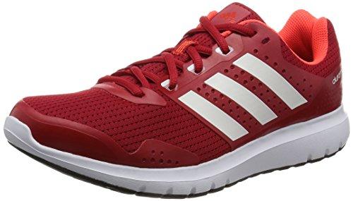 adidas Duramo 7, Scarpe Running Uomo, Rosso (Scarlet/Ftwr White/Ftwr White), 41 1/3 EU