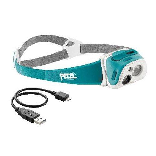 Petzl Tikka R+ Compact, Rechargeable Headlamp With Reactive Lighting Teal
