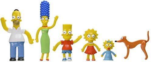 NJ Croce Simpsons Family Bendable Action Figure Box Set