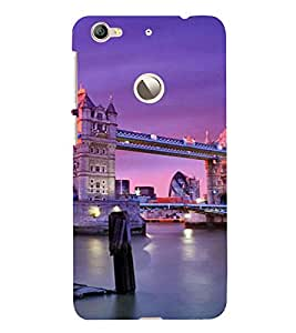 PrintVisa Travel London Bridge Design 3D Hard Polycarbonate Designer Back Case Cover for LeEco Le 1S
