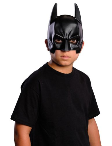 Scary-Masks Batman Child Face Mask Halloween Costume - Most Adults