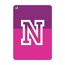 Skin4gadgets Dual Tone Orchid and Purple name Alphabet N Tablet Skin for IPAD MINI2