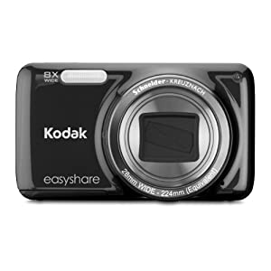 Kodak EasyShare M583 14 MP Digital Camera with 8x Optical Zoom, 3-Inch LCD Screen, 4GB Memory