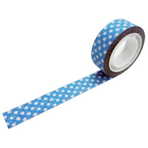 グリッターテープ スターブルー