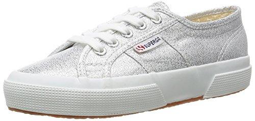 Superga 2750-Lamew, Sneaker, Donna, Argento (031 Silver), 35