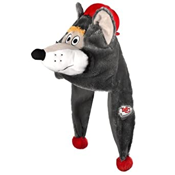 NFL Kansas City Chiefs Thematic Mascot Dangle Hat by Forever Collectibles