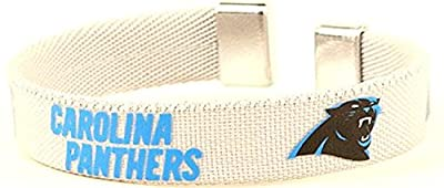 NFL Officially Licensed Carolina Panthers Ribbon Bracelet