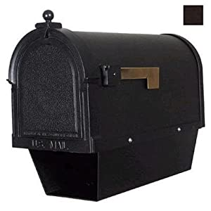 Berkshire Curbside Mailbox w Paper Tube (Copper)