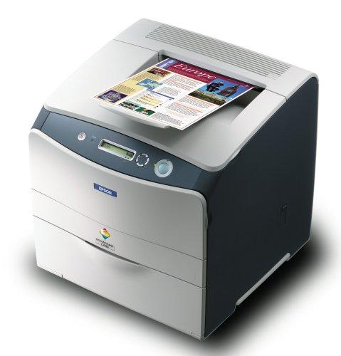 Epson AcuLaser C1100N - Imprimante - couleur - laser - Letter, A4 - 600 ppp x 600 ppp - jusqu'à 25 ppm (mono) / jusqu'Ã