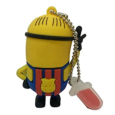 Hitkart USB Flash Drive New Style Minion P18-16GB Storage Device USB 2.0 or Higher