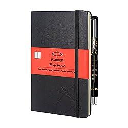 Parker Standard Small Notebook - 140x90mm, 100GSM with Parker Roller Ball 2016 Calendar Pen