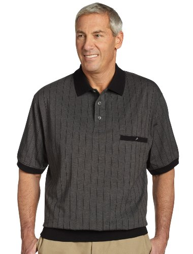 Men 39 s polos september 2012 for Mens big and tall banded collar shirts