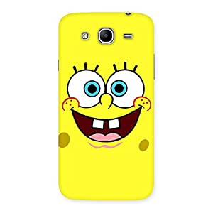 Special Spong Yellow Back Case Cover for Galaxy Mega 5.8
