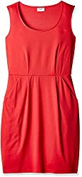 NUN Women's Body Con Dress (NUNDR6024_Pink_Large)