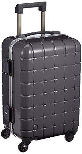 [プロテカ] Proteca 日本製スーツケース 360フレーム 48cm 34L 4.1kg 機内持込可 サイレントキャスター 00661 02 (ガンメタリック)