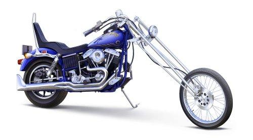 Aoshima Models 1/12 Wild Chopper Motorcycle