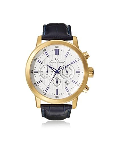 Lucien Piccard Men's 12011-YG-023S Monte Viso Dark Blue Leather Watch