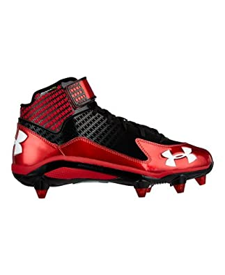 Under Armour Mens UA Fierce Mid D Football Cleats by Under Armour