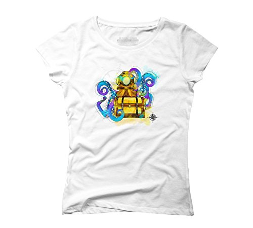 treasure-womens-2x-large-white-graphic-t-shirt-design-by-humans