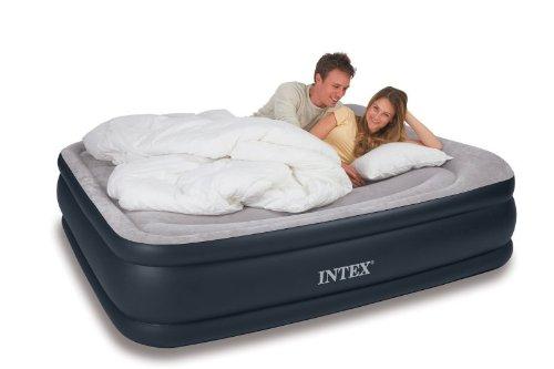 Intex Deluxe Pillow Rest Rising Comfort Queen