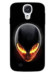 Get Alien - For Alienware Fans - Hard Back Case Cover for Samsung S4 - Superior Matte Finish - HD Printed Cases and Covers