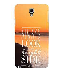 EPICCASE Brighter Life Mobile Back Case Cover For Samsung Galaxy Note 3 Neo (Designer Case)