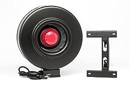 Hydroplanet™ 8 Inch Hydroponic Inline Duct Fan 4inch 6inch 8inch Booster Fan (8inch)