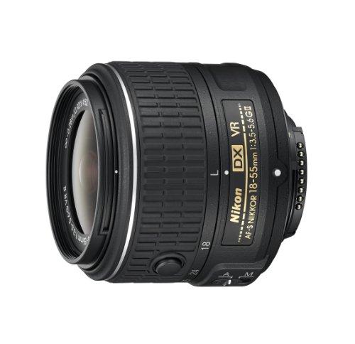 Nikon AF-S DX NIKKOR 18-55mm f/3.5-5.6G Vibration Reduction II Zoom Lens wi [Electronics]