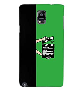 PrintDhaba Film D-4210 Back Case Cover for SAMSUNG GALAXY NOTE 3 (Multi-Coloured)