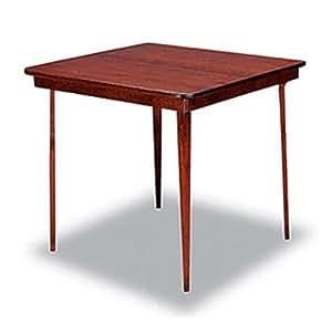 Amazon Com Meco Straight Edge Folding Card Table Office