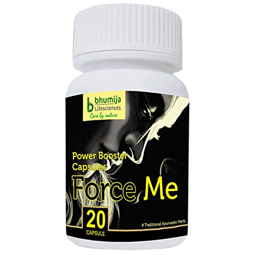 Bhumija Lifesciences Sexual Wellness (Force Me) Capsules For Men - 20 Tablets