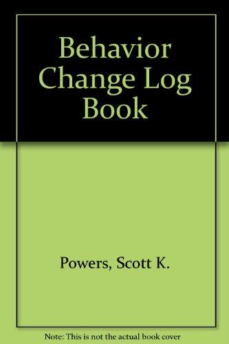Behavior Change Log Book