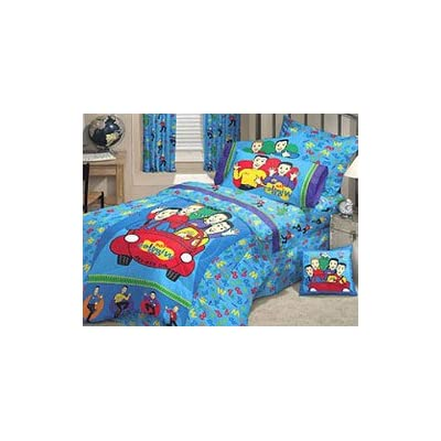 Amazon.com - THE WIGGLES - 5pc BED IN A BAG - Full Size