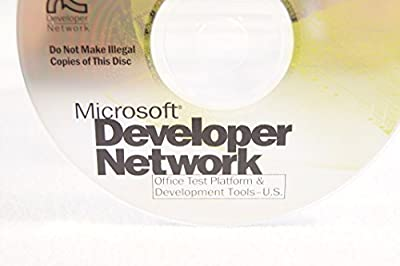 Microsoft Developer Network Visual Studio Service Pack 2 word/Excel Bundle-Disc #8 Part Number: 99397-Date: September 1997-PC Computer Software Program-Single Replacement Disc