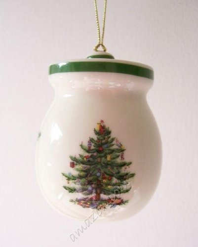 Spode Christmas Tree Honey Pot Ornament