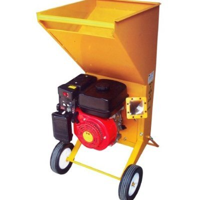 GudCraft 5.5 HP Gas Powered Wood Chipper/Leaf Shredder