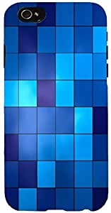 Snoogg Digital Squares Case Cover For Apple Iphone 6+
