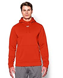 Under Armour Men\'s UA Storm Armour® Fleece Team Hoodie Medium Dark Orange