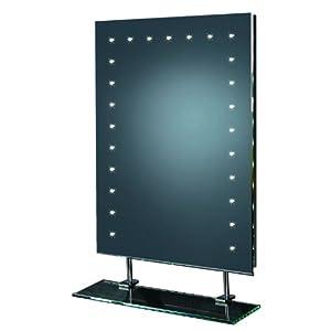 Model ELELASA  Endon Lighting PanelTile Mirror Light LED Cw Shelf Sensor