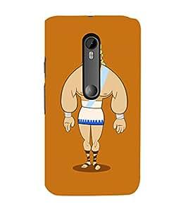 EPICCASE Greek Character Mobile Back Case Cover For Moto X Force (Designer Case)